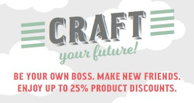 Sign up as a Stampin' Up! demonstrator and be your own boss
