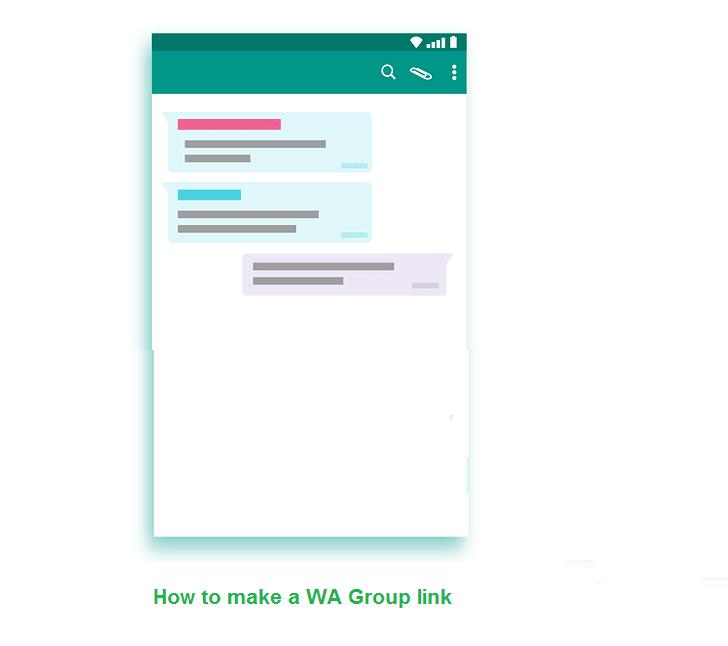 cara undang teman ke grup via link