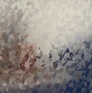 stiker motif kaca pecah