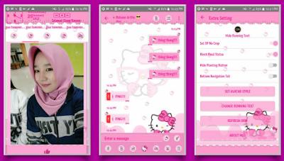 BBM Mod Hello Kitty V3.2.5.12 Apk