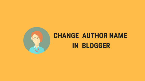 Change Author Name without Changing Google Plus Name