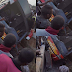 Photos: Young Shall Grow bus rams into fuel tanker on Enugu-Onitsha expressway