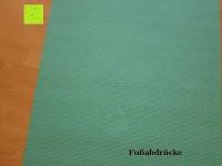Abdrücke: Yogamatte »Annapurna Comfort« / Die ideale Übungs-Matte für Yoga, Pilates, Gymnastik. Maße: 183 x 61 x 0,5cm / In vielen Trend-Farben erhältlich.