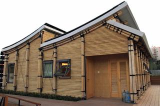 Desain Rumah Bamboo Modern 2016 3