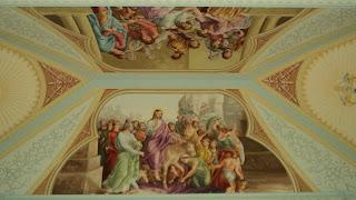 Pintura no Teto da Igreja de Ametista do Sul
