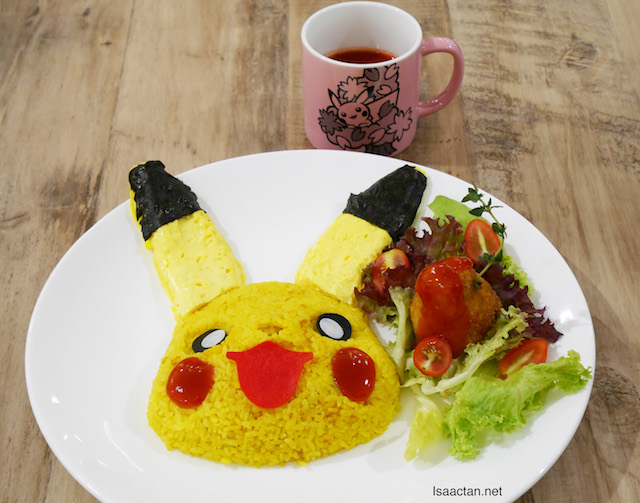 Pikachu Smiling Rice Omelette - RM29.90