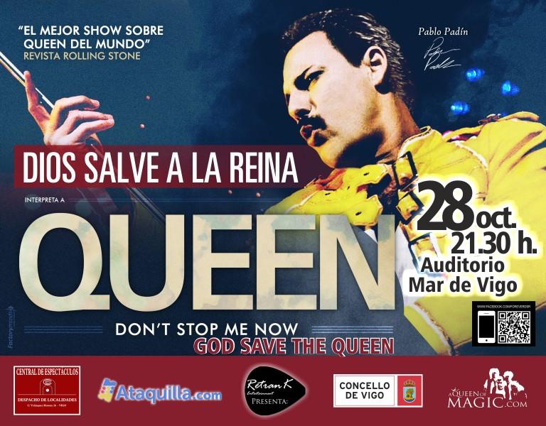 Tributo a Queen en Vigo God Save The Queen | Turismo Galicia