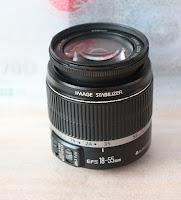 Jual Lensa Kit Canon 18-55mm IS Bekas