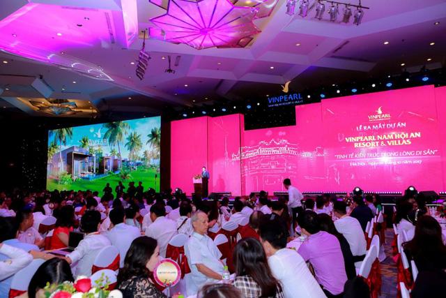 Vingroup ra mắt Vinpearl Nam Hội An