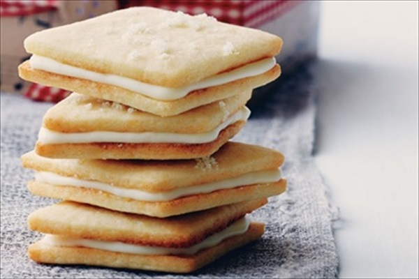 Lemon Sandwich Cookies Recipe — Dishmaps
