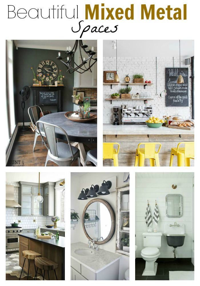 Mood Board Mixed Metal Living Room Little House Of