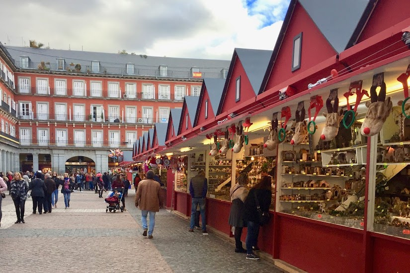 Mercado de Navidad de la Plaza Mayor de Madrid