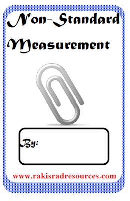 Free non-standard measurement book for math centers - from Raki's Rad Resources.