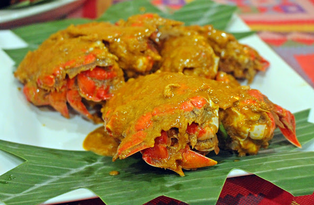 Curacha Crabs with Alavar Sauce