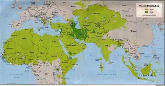 Luas Wilayah Daulah Khilafah: 20.000.000 Km persegi