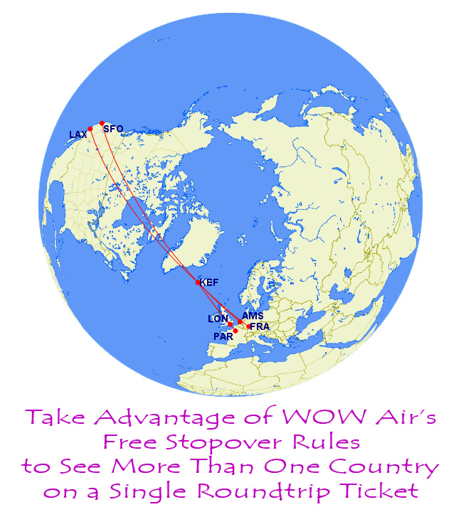 Flights to Iceland, Europe from USA West Coast as Cheap as $99 with on lirr route map, conrail route map, world airline route map, path route map, hudson route map, staten island ferry route map, iran air route map,