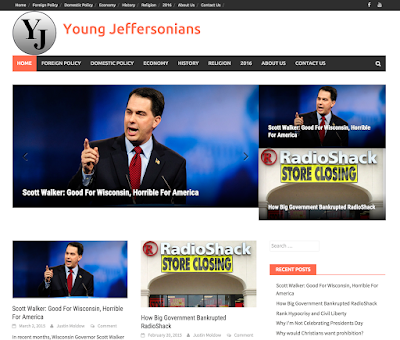 Young Jeffersonians before Liberty Hangout by Justin Moldow