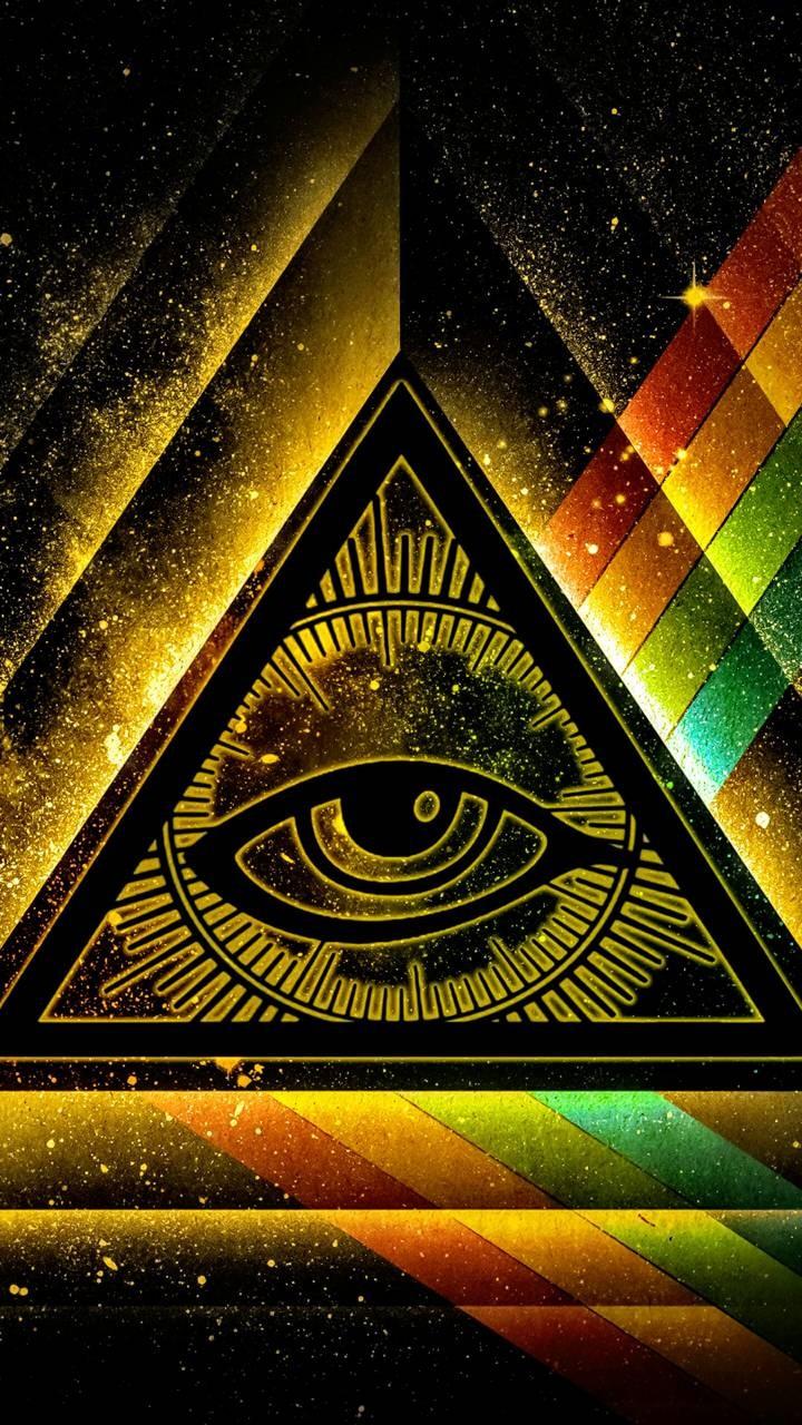 Versiculos De La Biblia De Animo: Fondo De Pantalla: Ojo Iluminati
