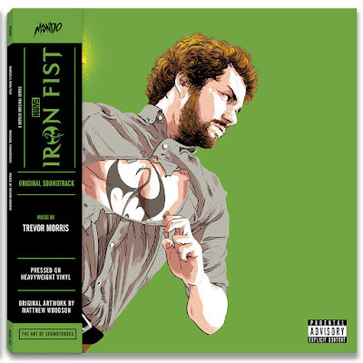 Marvel's Iron Fist Soundtrack LP Cover Artwork by Matthew Woodson x Mondo
