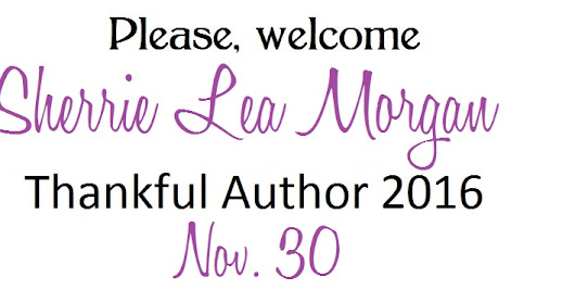 Thankful Author 2016- Sherrie Lea Morgan
