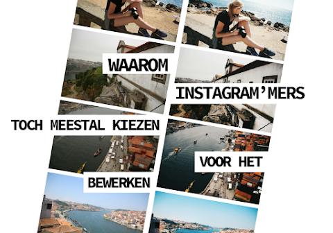 Waarom zien Instagram 'mers liever bewerkte foto's?
