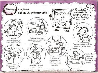 Te Cuento Un Cuento Dibujos Para Colorear De La Constitución