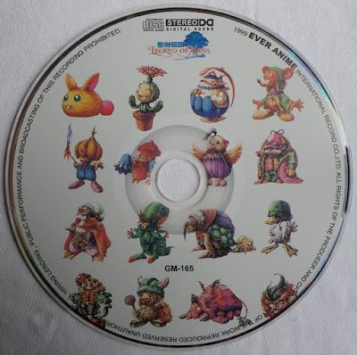Legend of Mana OST - Disco 1