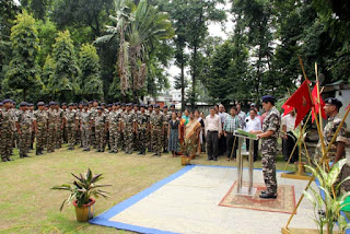 Sadbhavana Day celebration by SSB