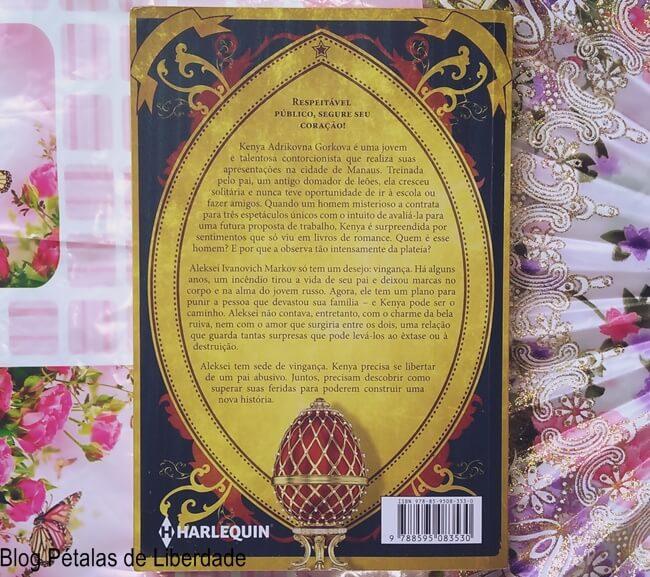 livro, A-Fênix-de-Fabergé, Sue-Hecker, Casandra-Gia, Harlequin, capa, sinopse, resenha