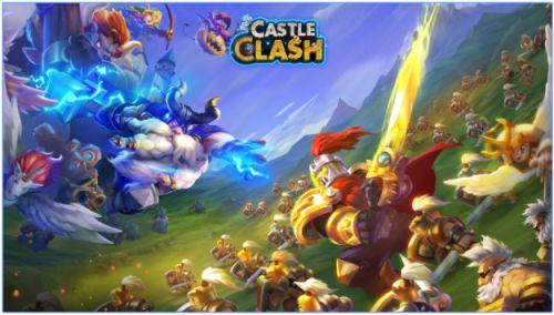 Game Perang Kerajaan Castle Clash APK
