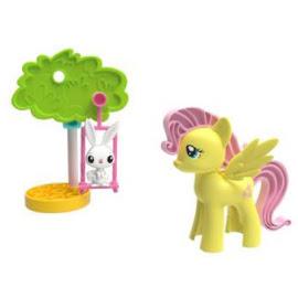 MLP Pony Pals Fluttershy Figure by K'NEX Tinkertoy