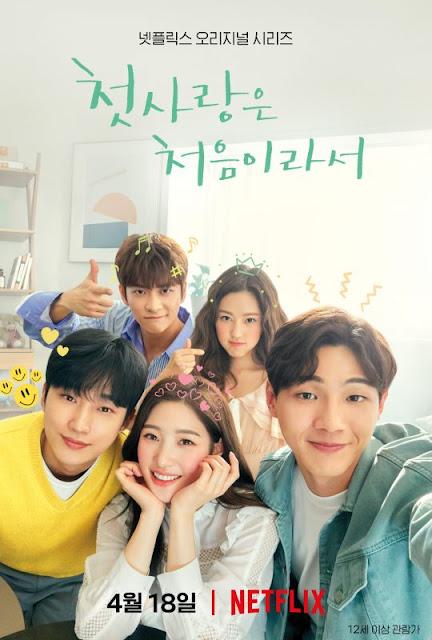 韓劇-因為初戀是第一次-戲劇海報