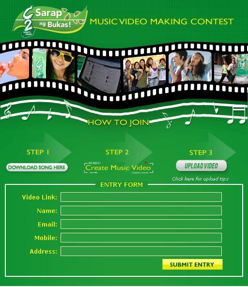 C2 Music Video Making Contest | Panalo Bulletin