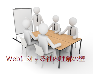 Webに対する社内理解の壁