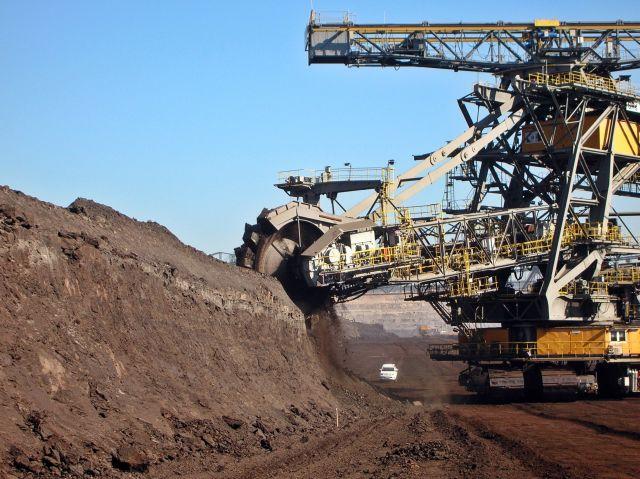 Niemcy, Tagebau Nochten, koparka, maszyny