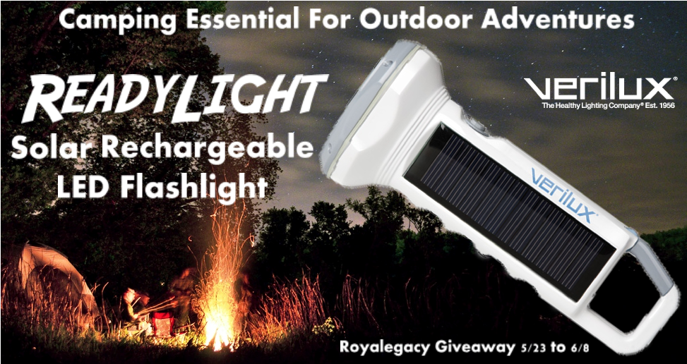 Royalegacy Reviews And More Readylight Solar Rechargeable