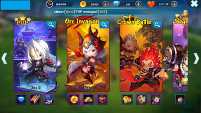 Review Game Android Mystic Kingdom
