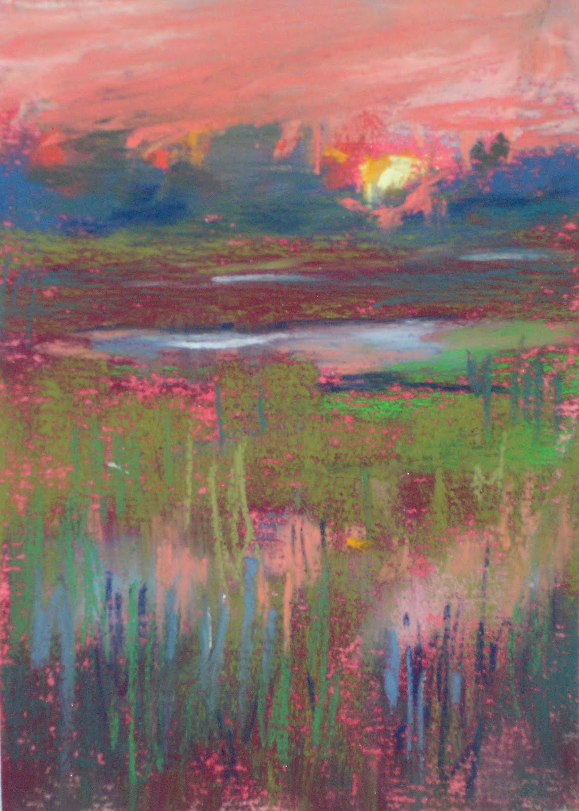 Pastel Drawing Sunset at GetDrawings | Free download |Pastel Drawings Of Sunsets