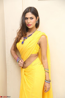 Nishigandha in Yellow backless Strapless Choli and Half Saree Spicy Pics 126.JPG