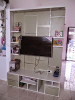 Custom Furniture Semarang - Sekat Ruang Tamu Multi Fungsi