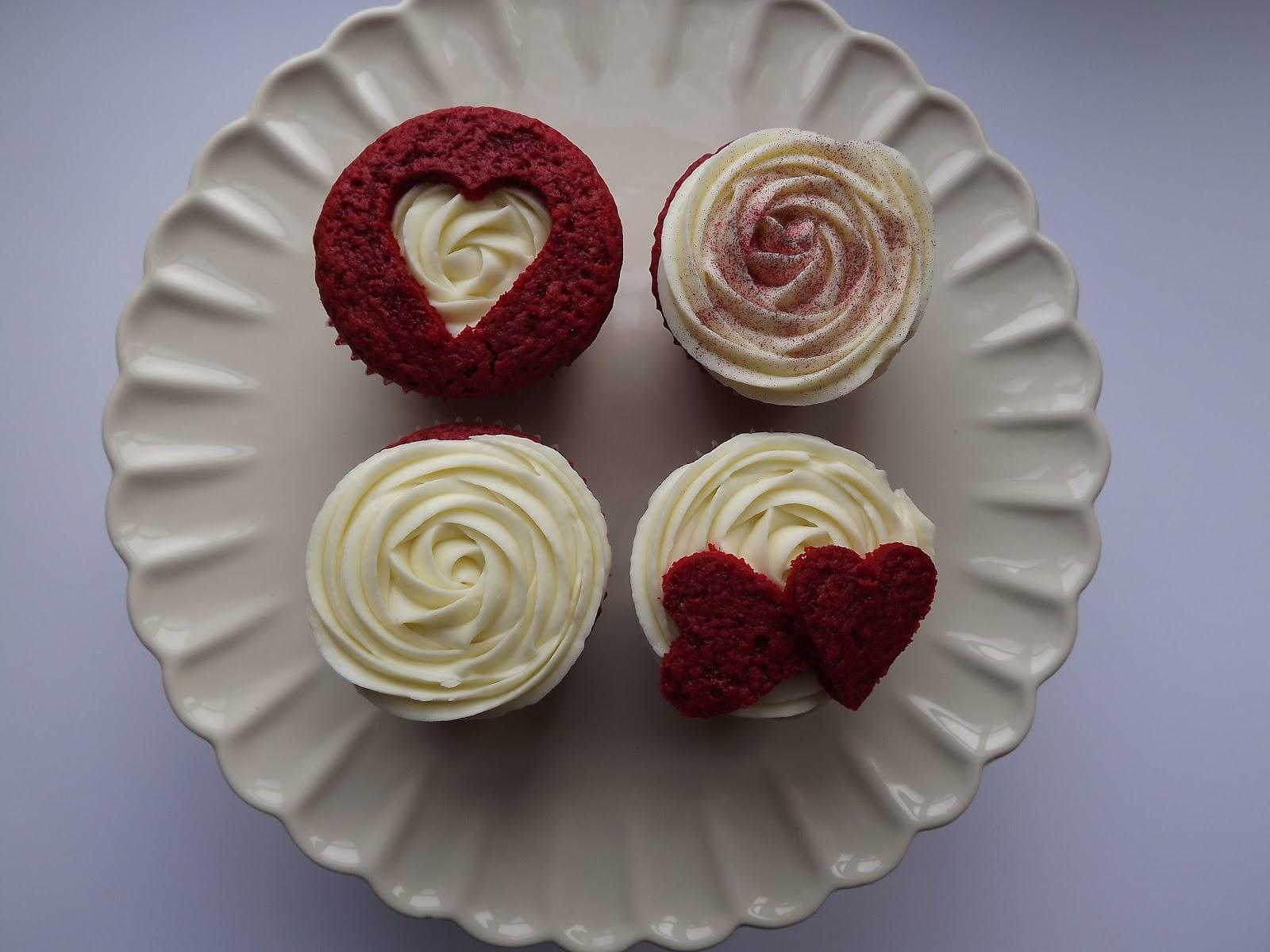 Valentine S Red Velvet Cupcakes
