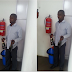 #crime : Man Caught Stealing Exotic Wines At Grand Square, Ikeja - Lagos. [See Photos]