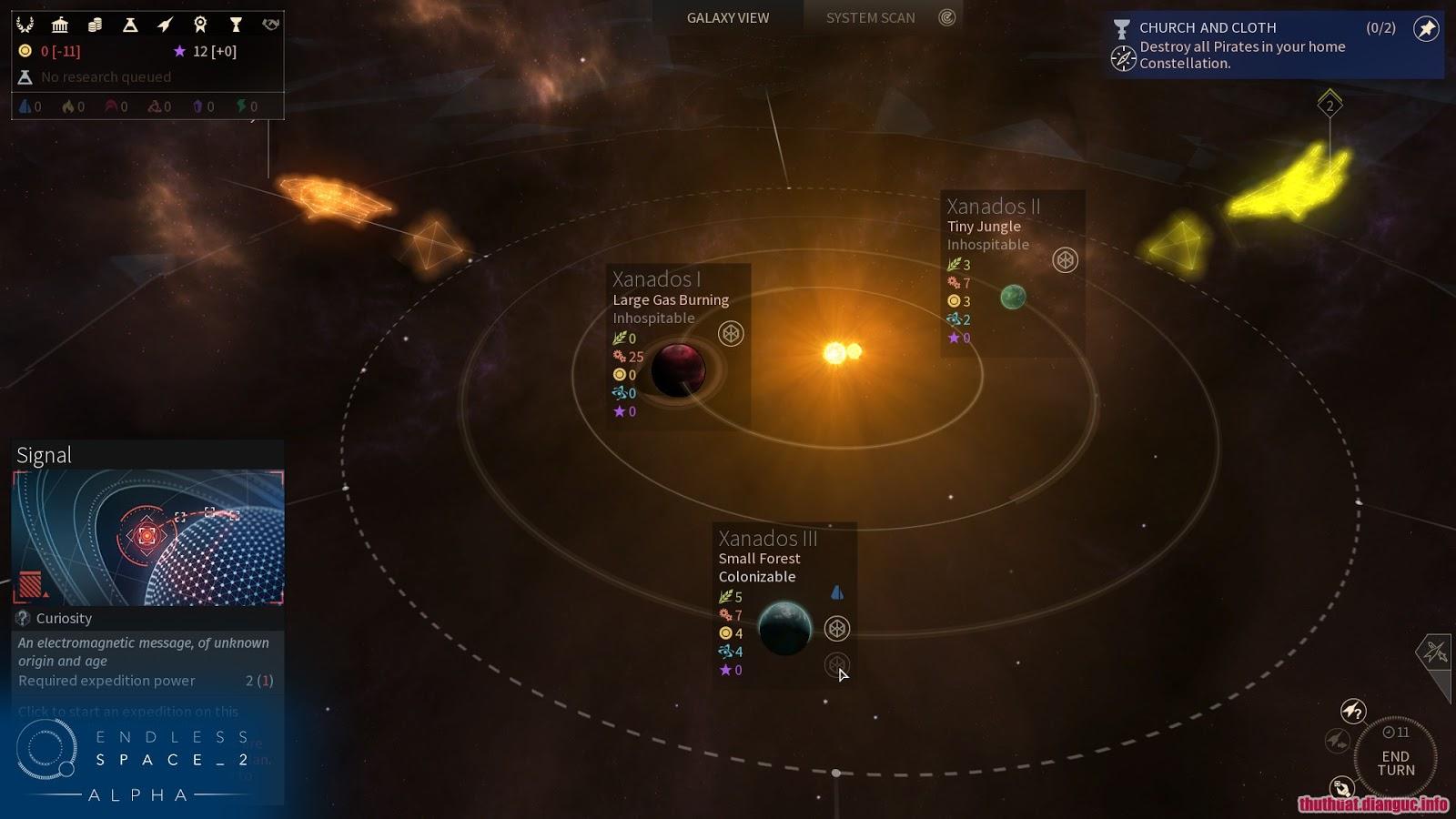 Tải game Endless Space 2, game không gian vũ trụ
