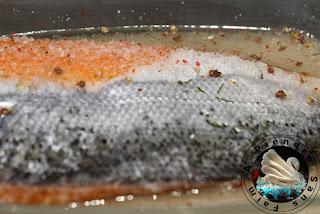 Gravlax de saumon (pas à pas en photos)