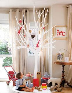 El Cajon De Sofia Ideas Para Decorar En Navidad Arboles Con Gracia - Arbol-de-navidad-artesanal