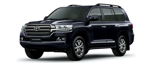 Toyota Land Cruiser 2016: 8 chỗ, số tự động 6 cấp, 4.7L