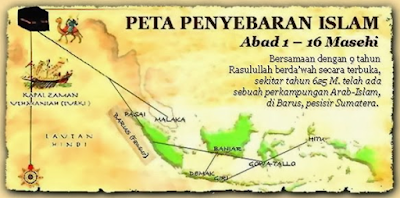 Sejarah Perkembangan Islam Di Asia Tenggara dan Sekitarnya