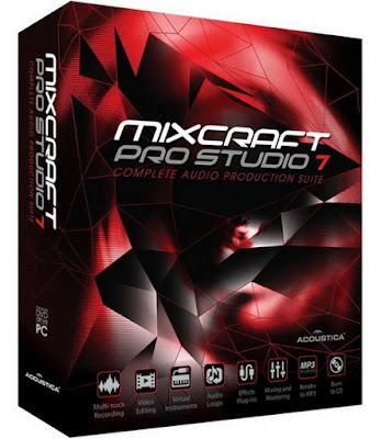 Acoustica Mixcraft Pro Studio 7.7.310 Multilingual