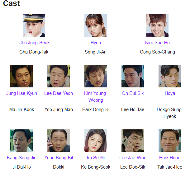 Sinopsis Two Cops K-Drama Cast