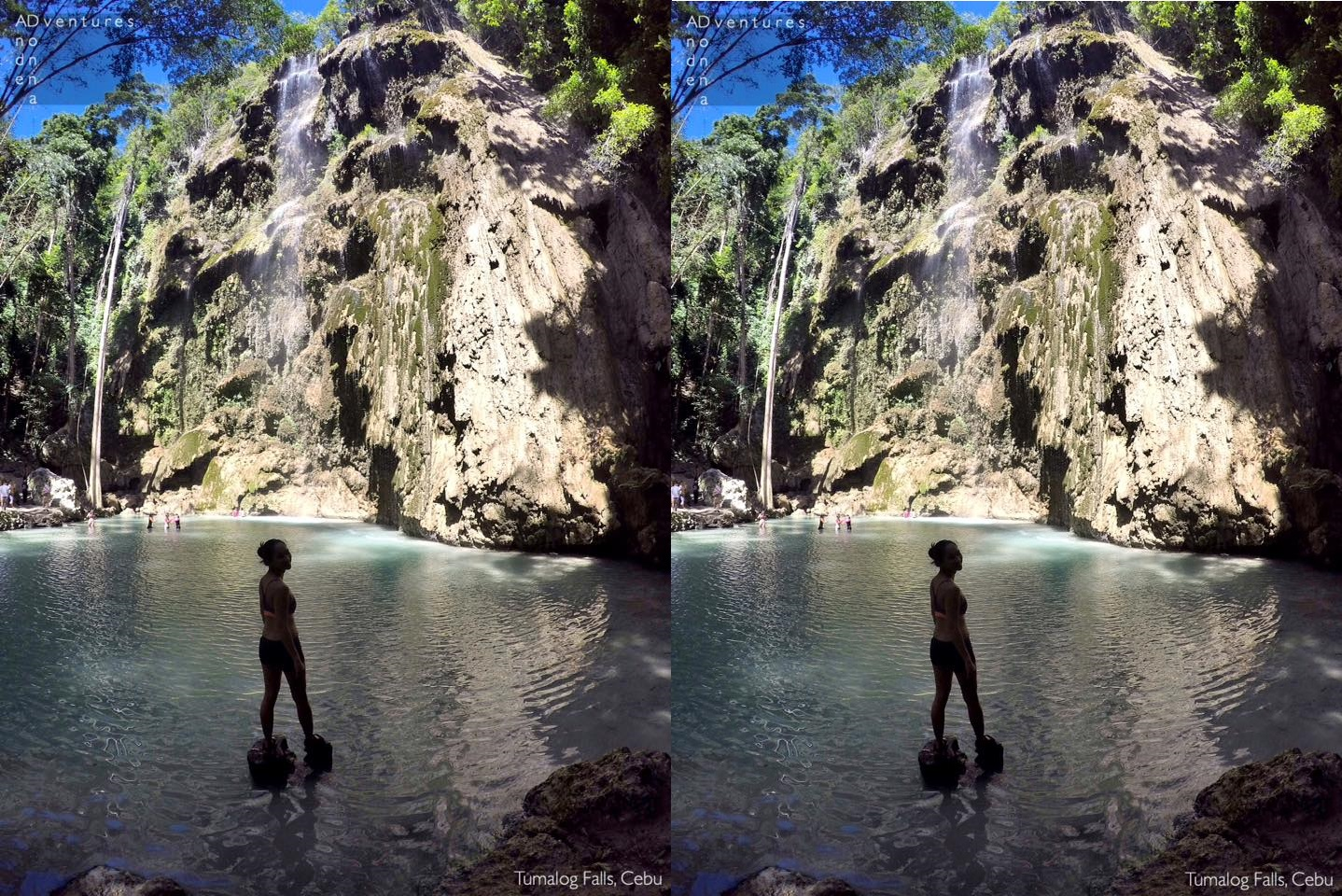 Tumalog Waterfalls in Cebu